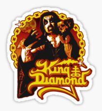 King Diamond - Fatal Portrait Red Sticker