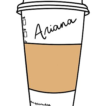 GRANDE / PERSONALIZED COFFEE CUP (get your own custom cup!) by hslim
