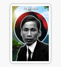 Ho Chi Minh Holy Icon Sticker