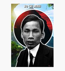 Ho Chi Minh Holy Icon Photographic Print