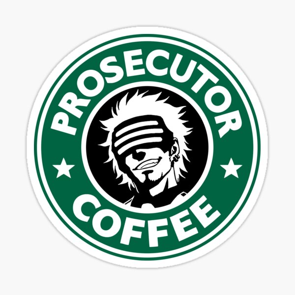 Café du procureur Sticker