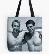 Morgan + Matthew Tote Bag
