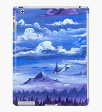 """Cotton Skies"" - Acrylic Painting iPad Case/Skin"