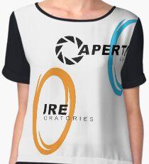 Aperture Science Portal Chiffon Top