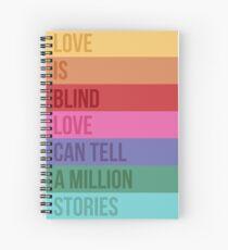 Cuaderno de espiral El amor es Blind Square / Falsettos