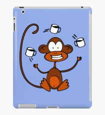 Coffee Monkey iPad Case/Skin
