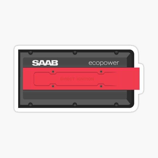 Saab Engine - Direct Ignition Ecopower Sticker