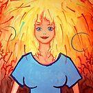 Jill, Fire Girl by eolake