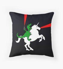 Cojín Dinosaur Riding Unicorn