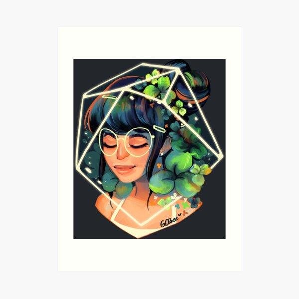 Clover Art Print