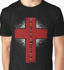Salvation Cross Graphic T-Shirt