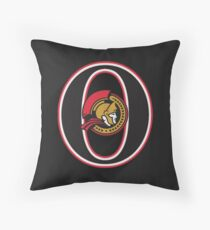 Ottawa Senators Minimalistic Print Throw Pillow