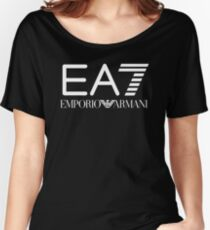 Emporio Armani EA7 Women's Relaxed Fit T-Shirt