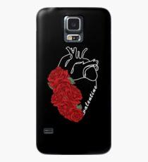 Funda/vinilo para Samsung Galaxy Corazón humano de San Valentín