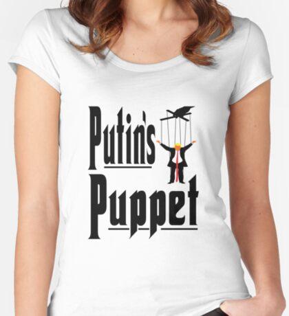 Putins Puppet Trump Women's Fitted Scoop T-Shirt