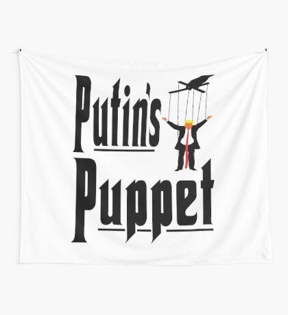 Putins Puppet Trump Wall Tapestry