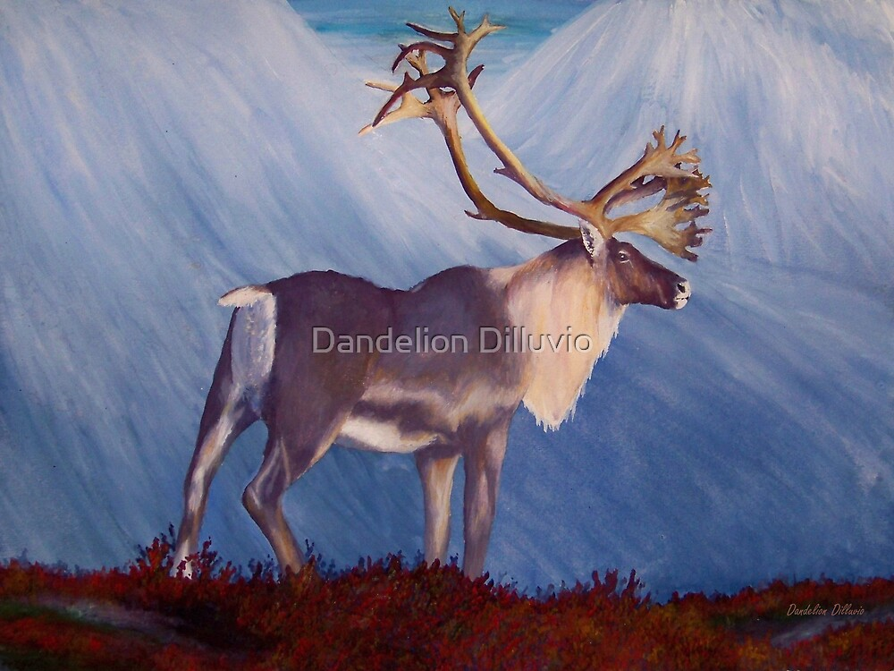 The Caribou by Dandelion Dilluvio