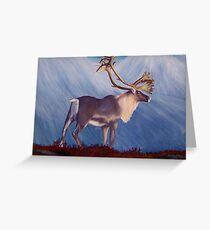 The Caribou Greeting Card