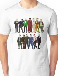 Doctor Who - The 13 Doctors Unisex T-Shirt