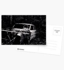 Car 2/6 Postcards