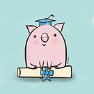 Clever Pig Graduation  by Zoe Lathey