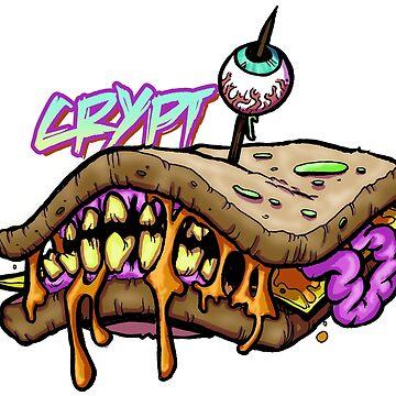 monster sandwich.  by Richicrypt