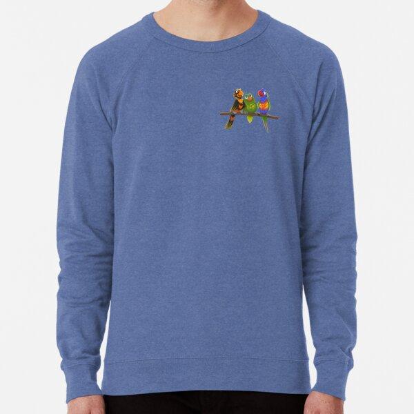 Lory-Lorikeets Lightweight Sweatshirt