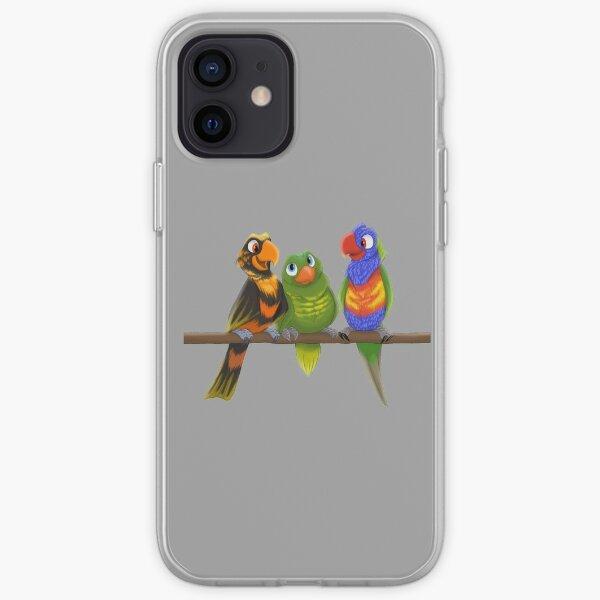 Lory-Lorikeets iPhone Soft Case