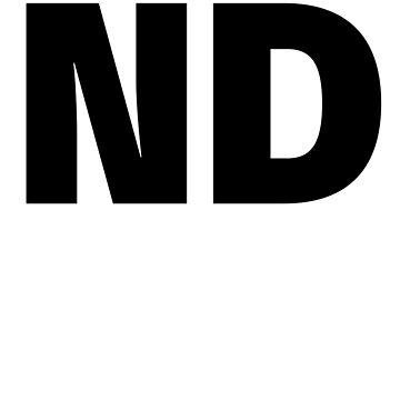 North Dakota ND Fun T-shirt Unique Vacation Souvenir for men and women who love North Dakota by ChangeRiver