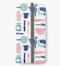 Baking Tools Pattern iPhone Wallet/Case/Skin