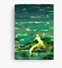 bright warm quiet alone Canvas Print