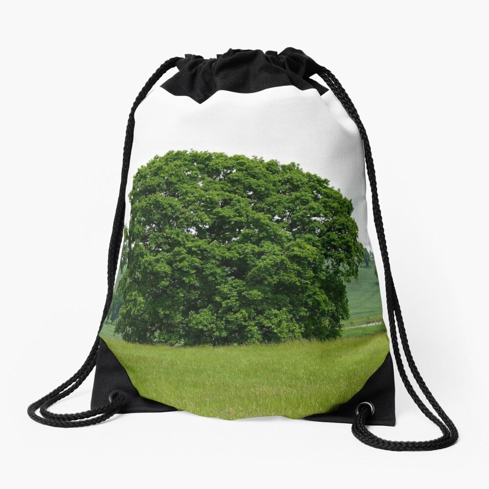 Hillside View - Einsamer Baum Turnbeutel