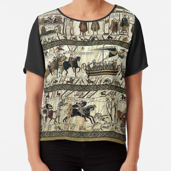 Bayeux Tapestry Chiffon Top