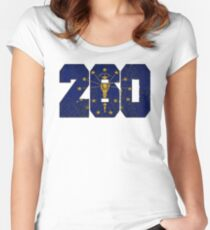 ALWAYS REPPIN' THE 260 Women's Fitted Scoop T-Shirt