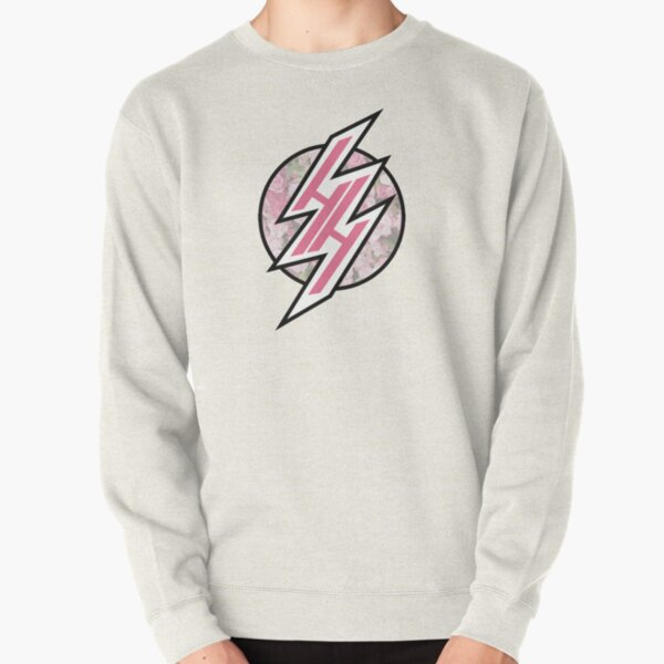 HENTAI HAVEN PINK PASTEL FLORAL  Pullover Sweatshirt