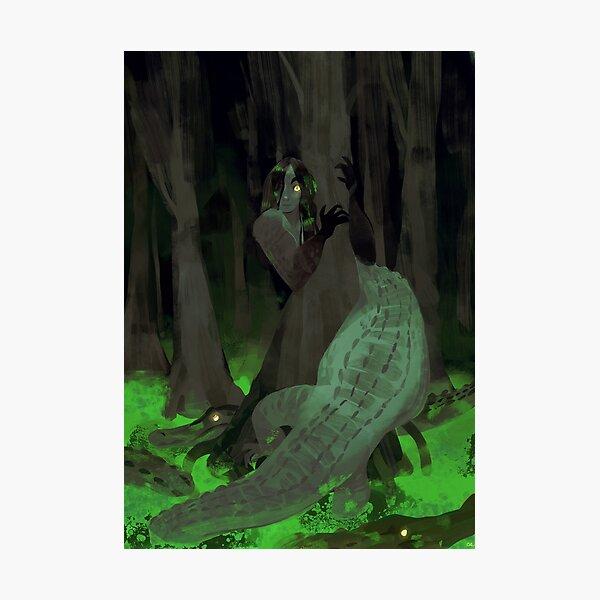 gator gal Photographic Print