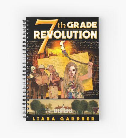 7th Grade Revolution Spiral Notebook