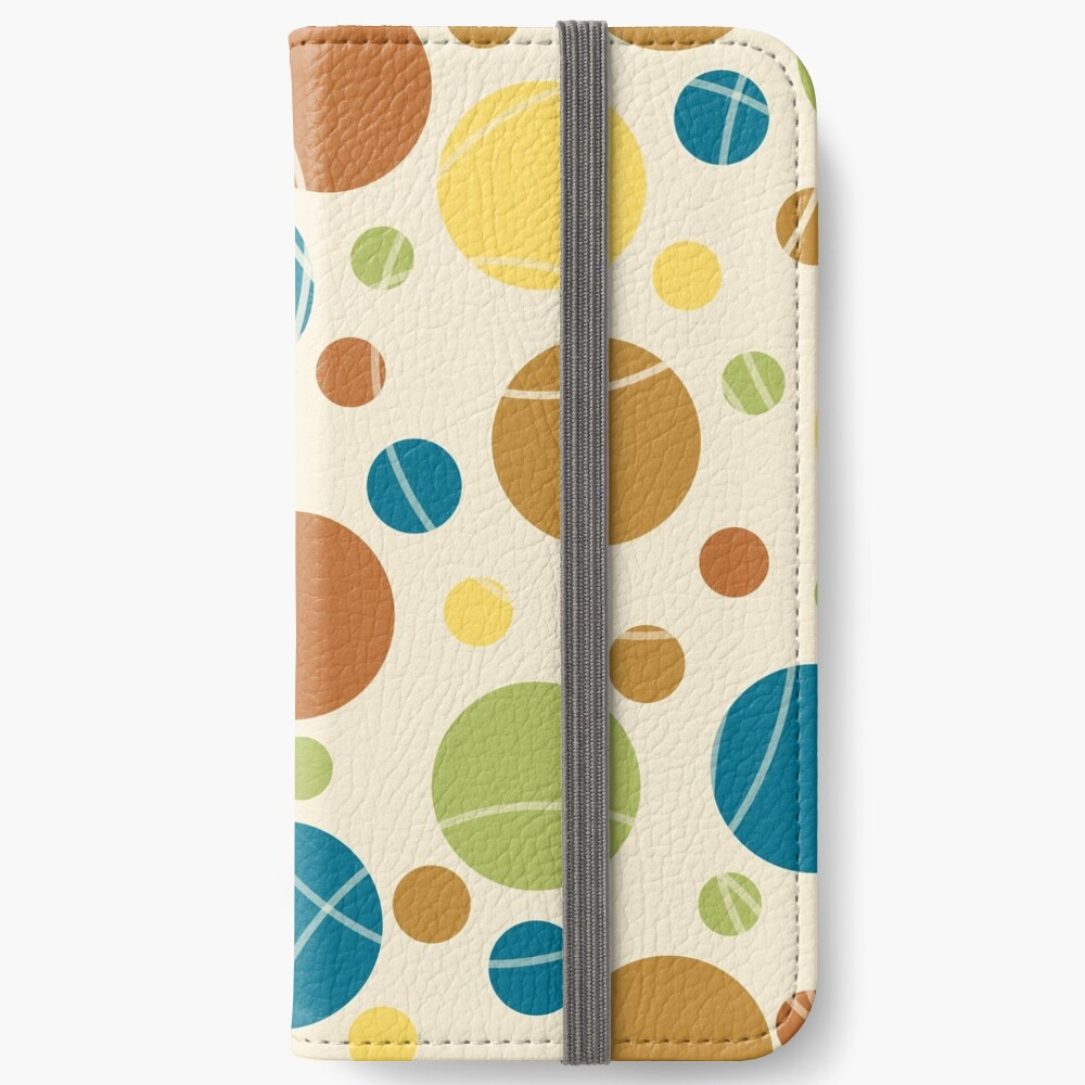 Cuba Street Dots v2 iPhone Wallet