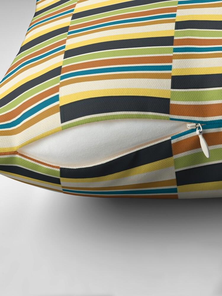 Alternate view of Cuba Street Stripe Floor Pillow