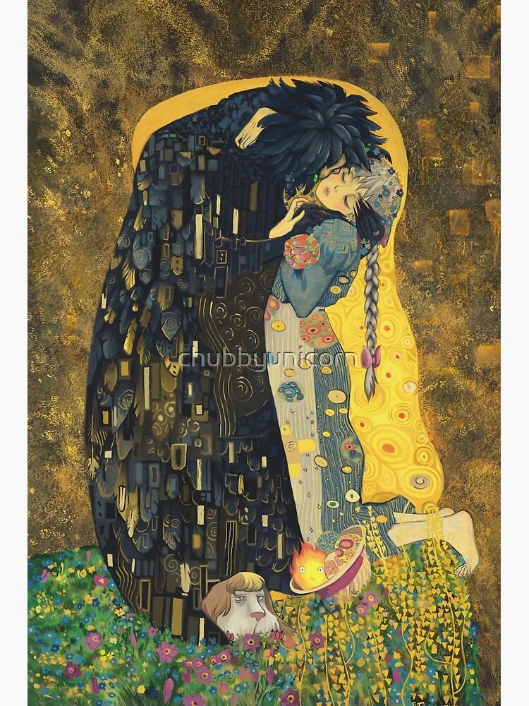 The Kiss: Like Starlight by chubbyunicorn
