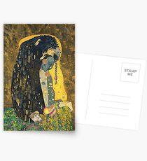 The Kiss: Like Starlight Postcards