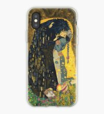 The Kiss: Like Starlight iPhone Case