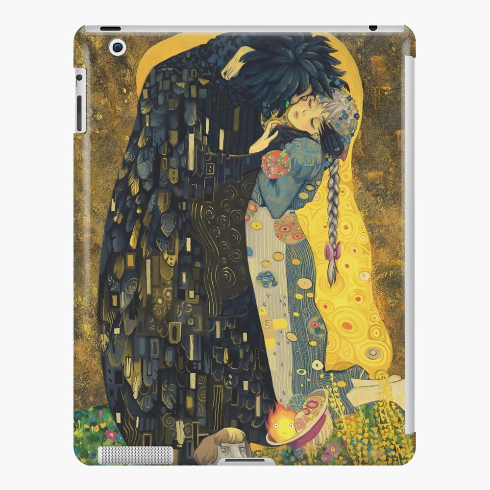 The Kiss: Like Starlight iPad Case & Skin