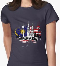 Malaysia Truly Asia Women's Fitted T-Shirt