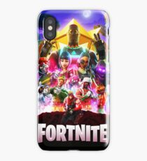 Fortnite Poster iPhone Case
