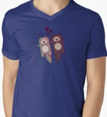 You're My Significant Otter Men's V-Neck T-Shirt
