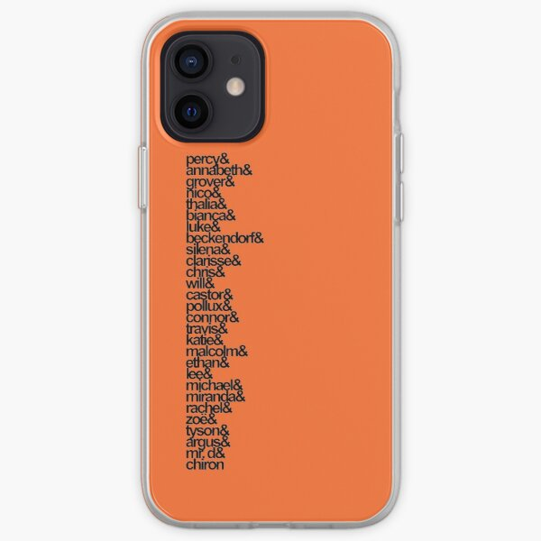 Percy Jackson and the Olympians Characters iPhone Soft Case