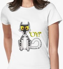 Oy! Womens Fitted T-Shirt