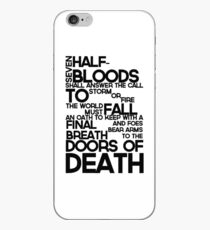 Heroes of Olympus Prophecy iPhone Case