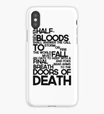 Heroes of Olympus Prophecy iPhone Case
